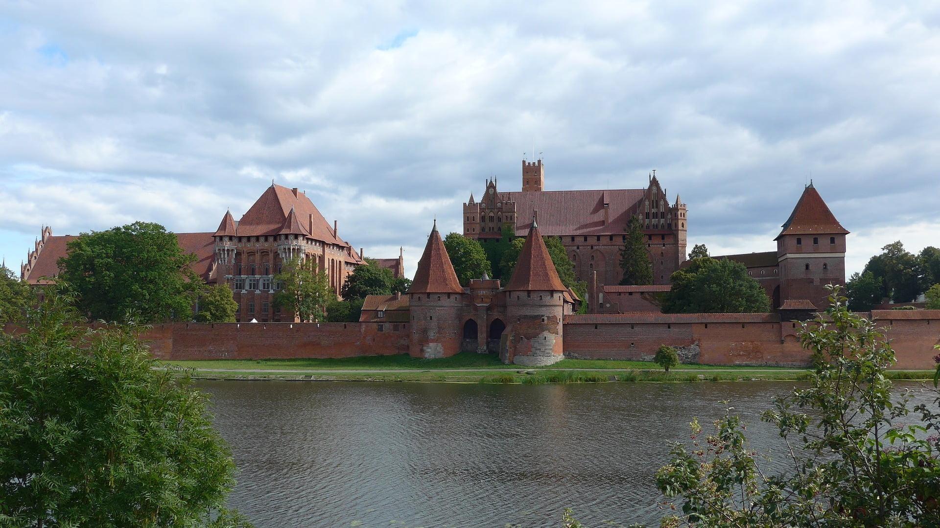 Największy zamek w Europie zbudowany z cegieł – zamek krzyżacki
