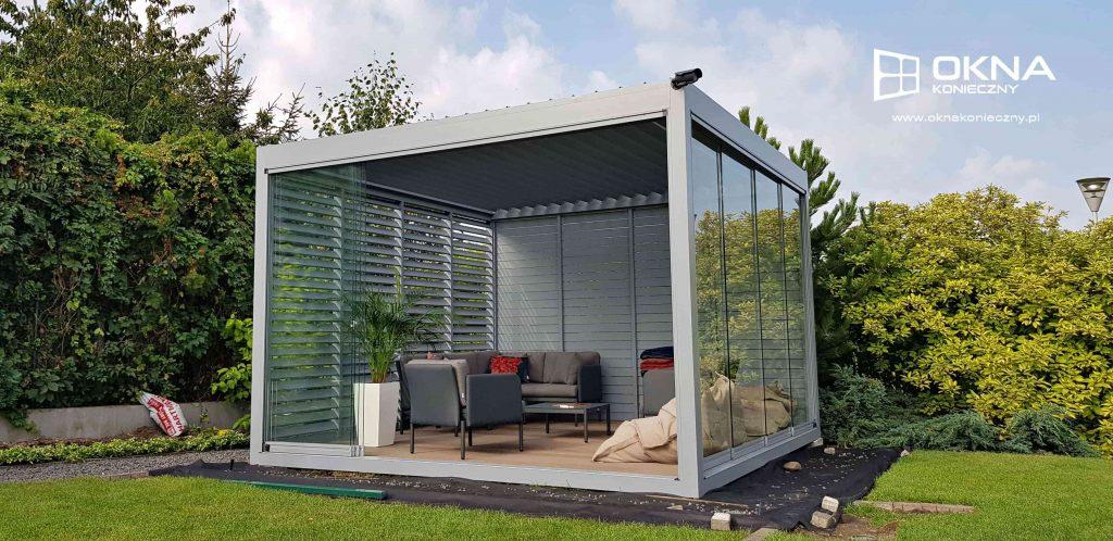 pergola ogrodowa okna konieczny